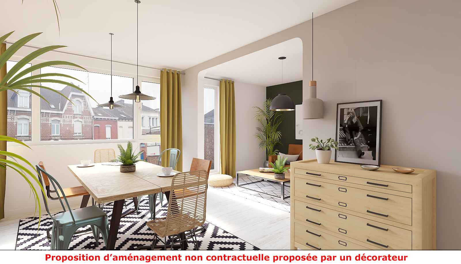 Home staging virtuel 2D par immotio