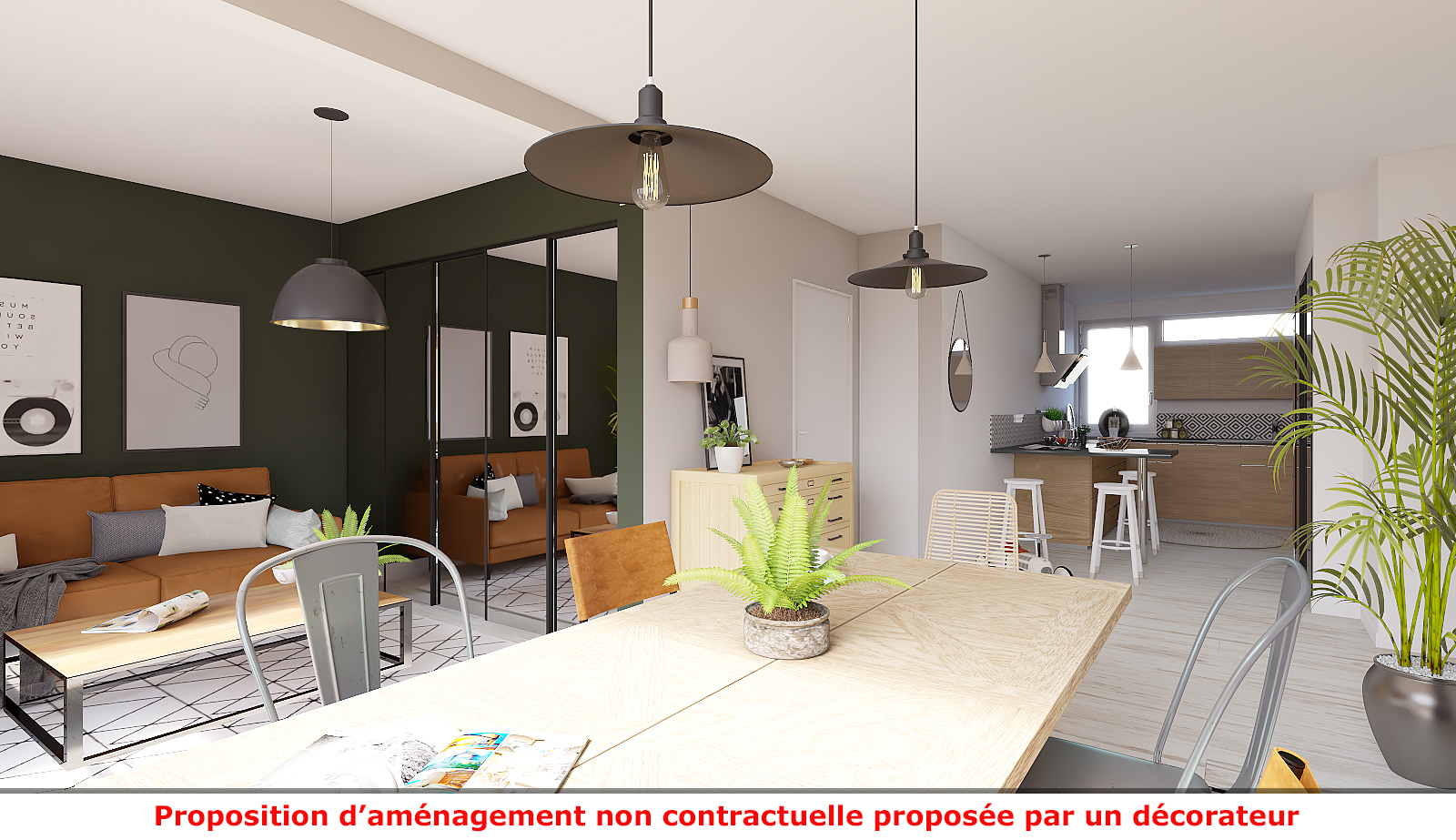 Home staging virtuel 3D par immotio